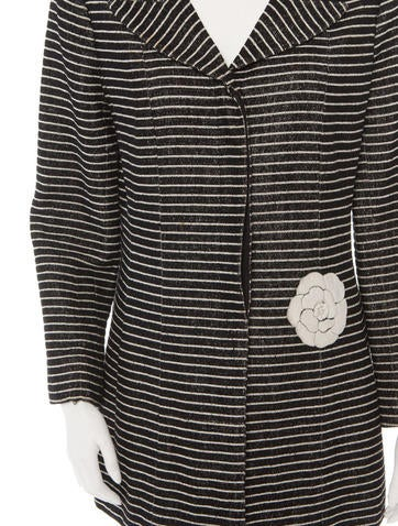Striped Terry Coat