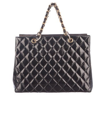 Quilted Patent Tote