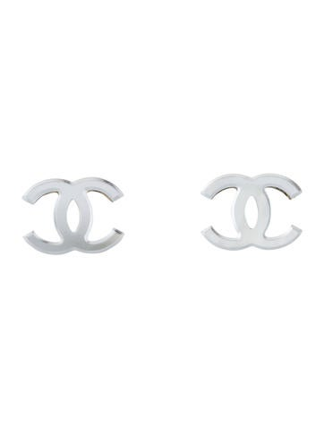 Mirrored CC Clip-On Earrings