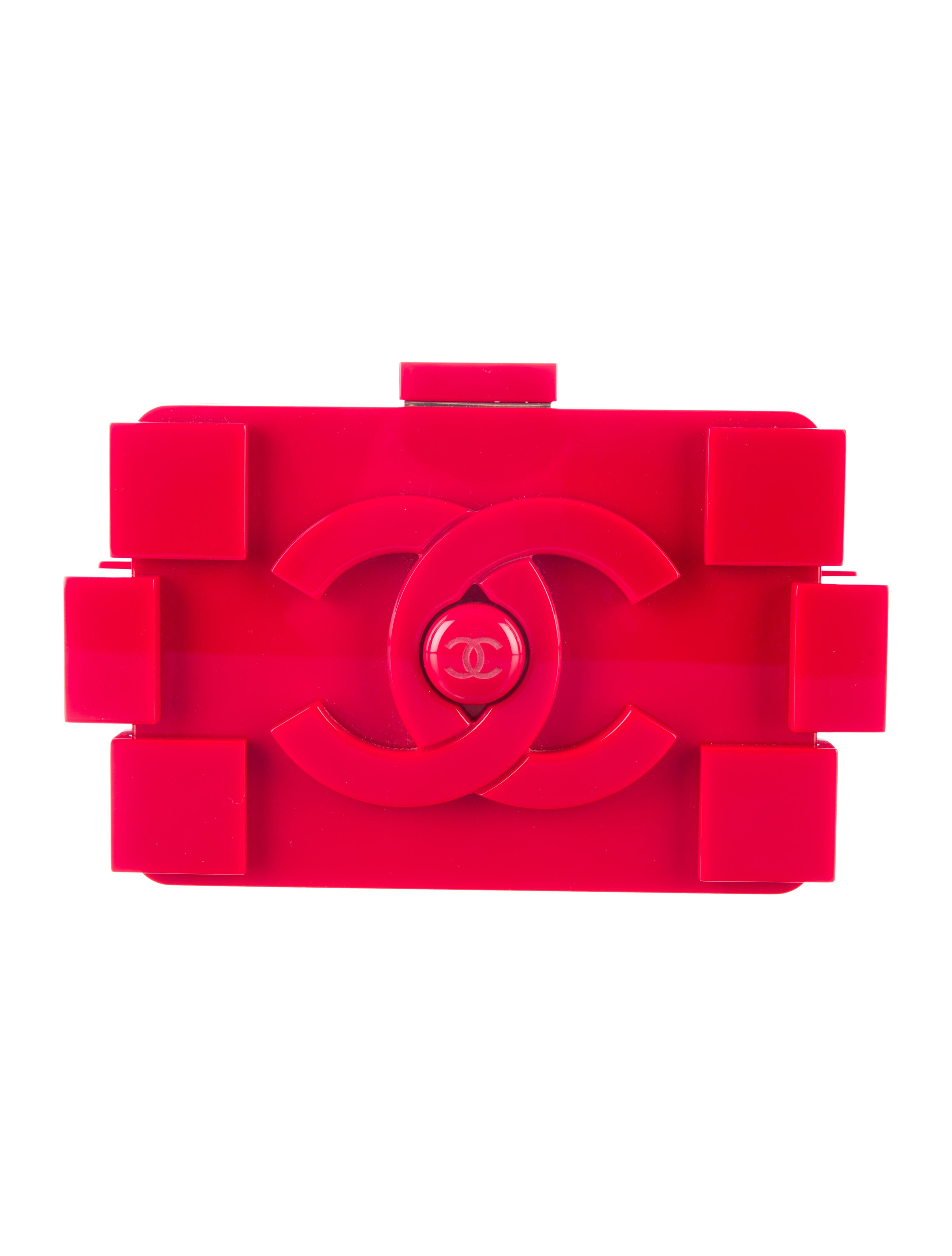 Chanel Lego Clutch - Handbags - CHA100698 | The RealReal