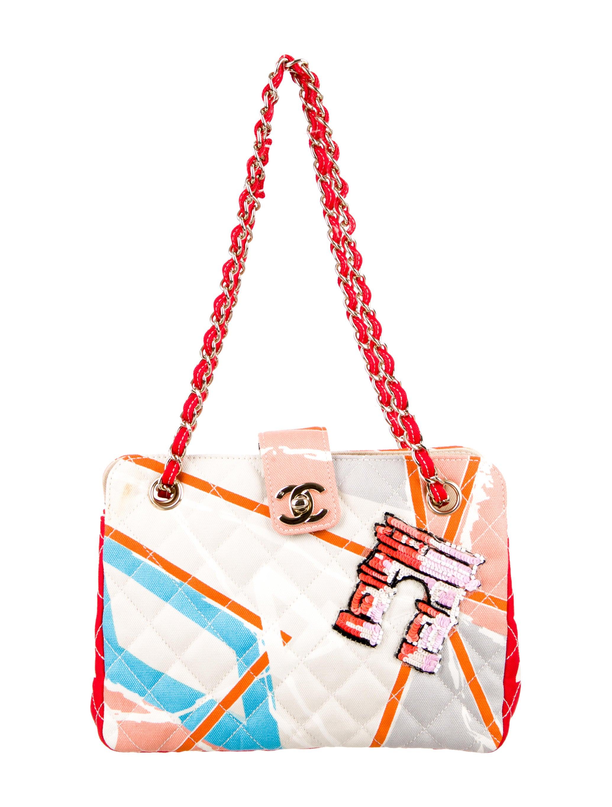 058712e4247328 Chanel Quilted Arc de Triomphe Bag - Handbags - CHA100816 | The RealReal