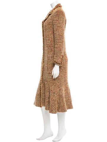 Long Tweed Coat