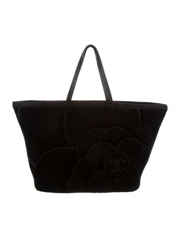 Camellia Terry Beach Bag