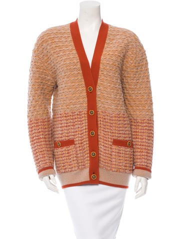Chanel Cashmere Silk Cardigan None