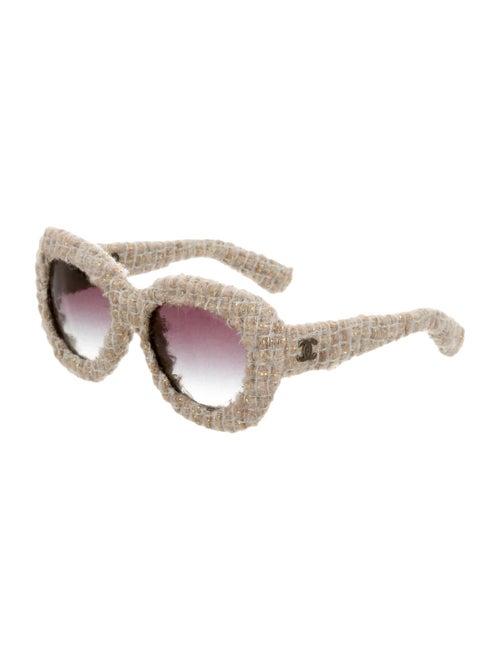 a9328db371152 Tweed Oversize Sunglasses w  Tags Tweed Oversize Sunglasses w  Tags ...