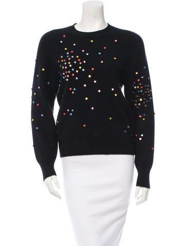Chanel Embellished Cashmere Sweater w/ Tags None