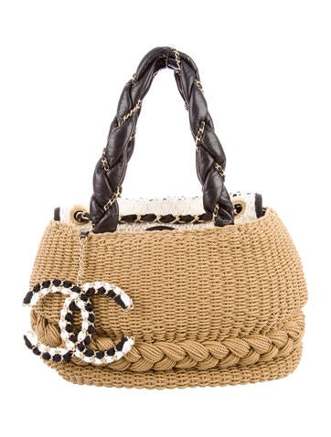 Raffia Coco Country Bag