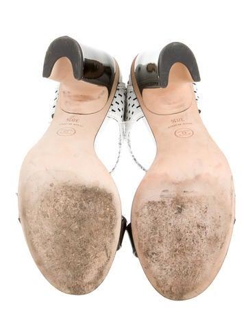 Patent Leather CC Sandals