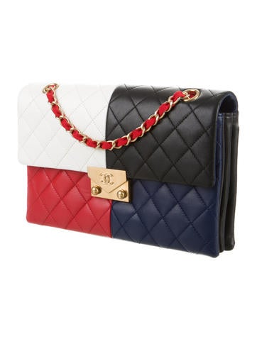 2016 Multicolor Flap Bag