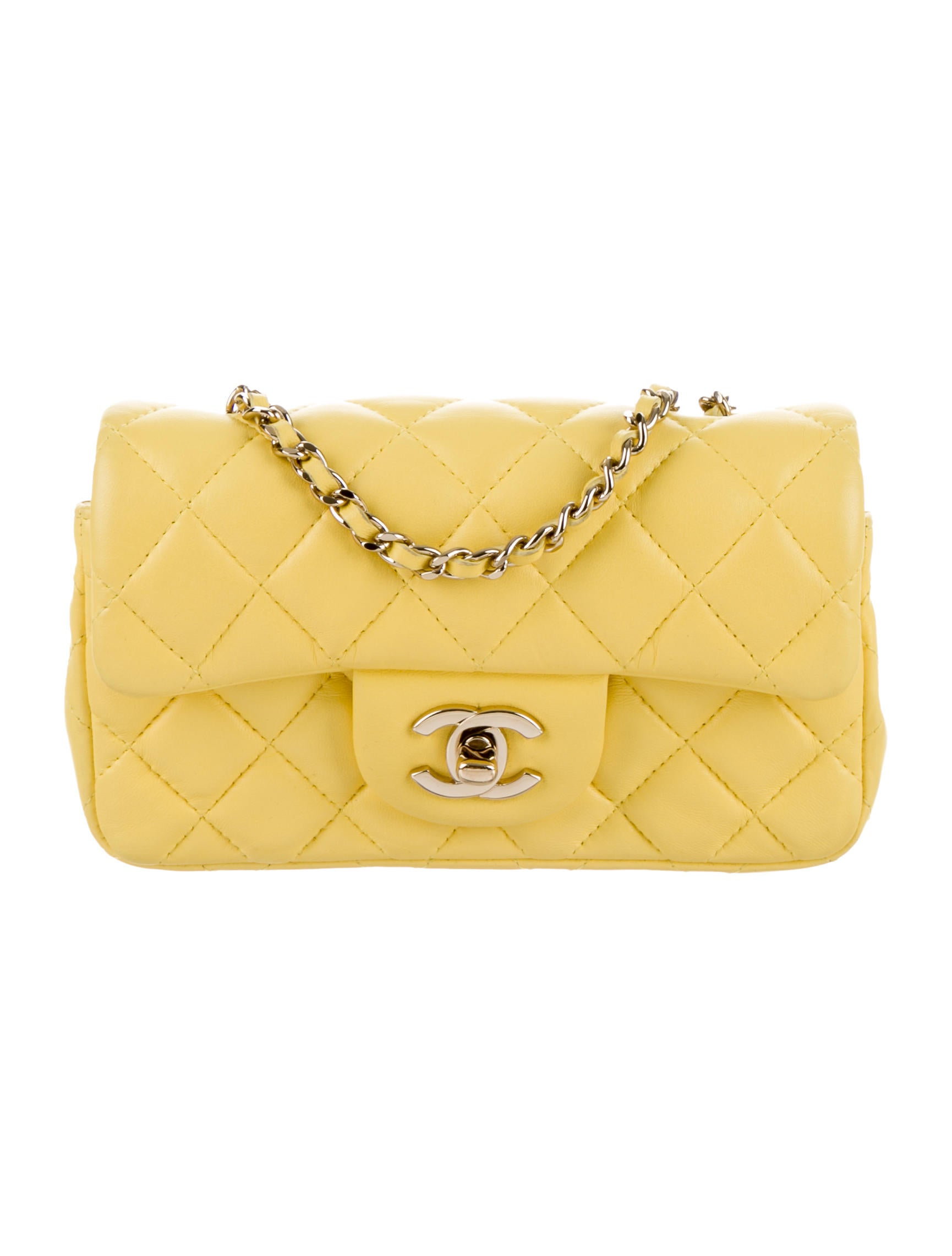 5c33b8b53bf4 Chanel Extra Mini Classic Flap Bag - Handbags - CHA105206 | The RealReal