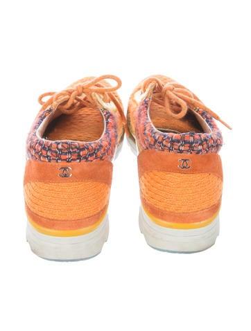 Tweed Trainer Sneakers