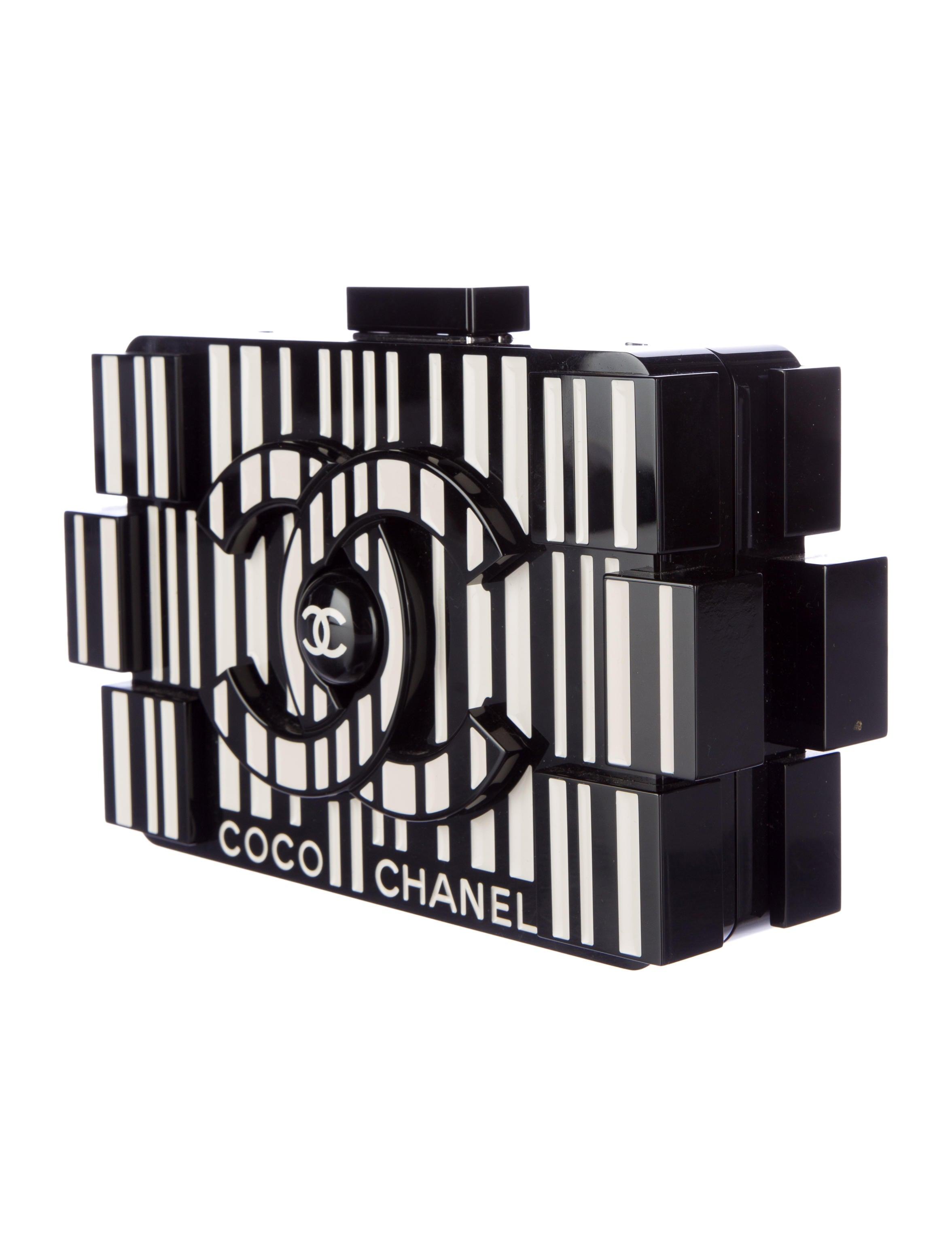 Chanel Coco Lego Clutch Handbags Cha108223 The Realreal