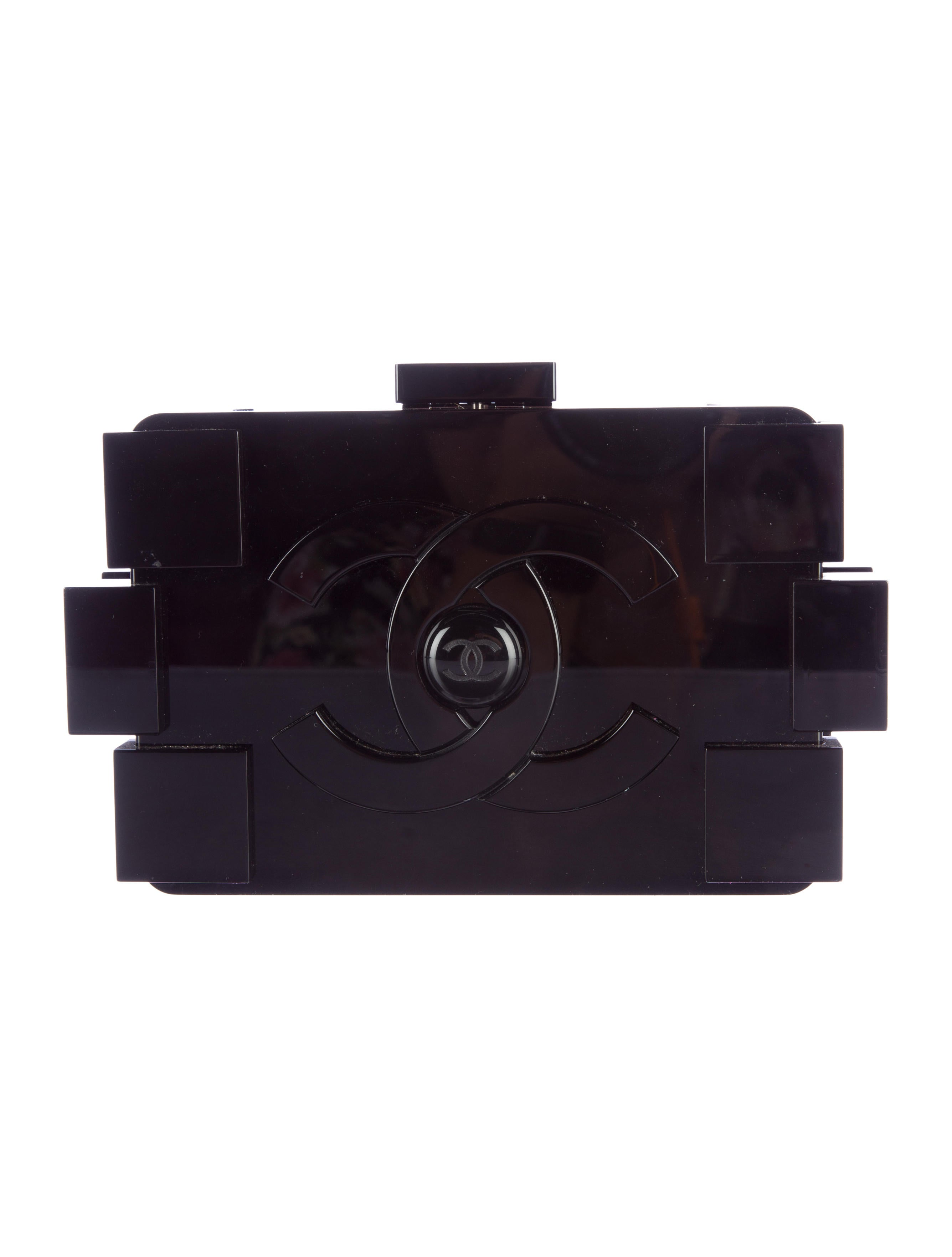 Chanel Coco Lego Clutch - Handbags - CHA108223 | The RealReal