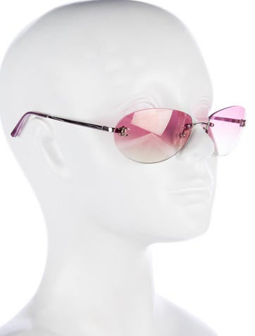 CC Rimless Sunglasses