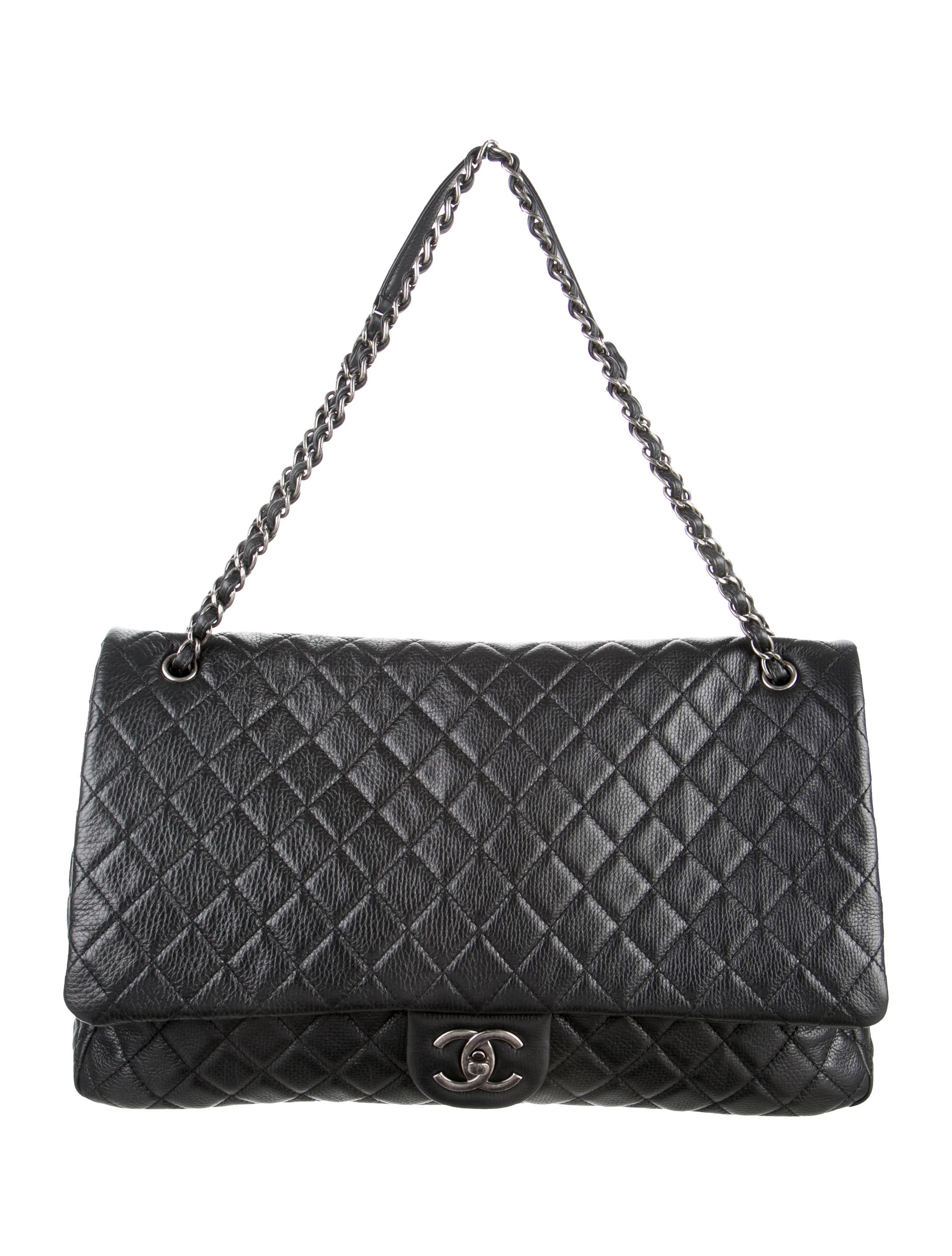 b85e34cef428 Chanel XXL Airline Classic Flap Bag - Handbags - CHA109951