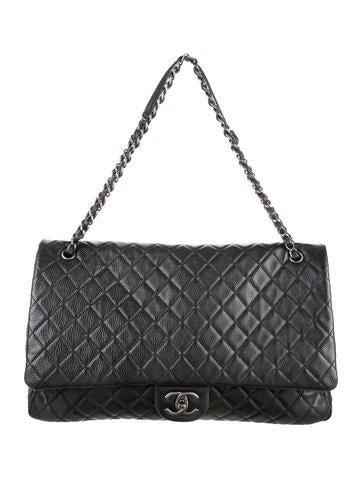 2277c436baf4 Chanel XXL Airline Classic Flap Bag - Handbags - CHA109951 | The RealReal