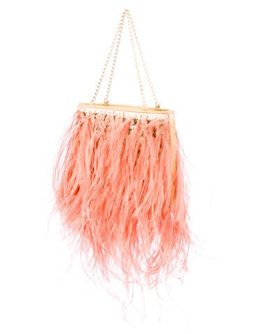 Chanel Ostrich Feather Bag Handbags Cha11064 The
