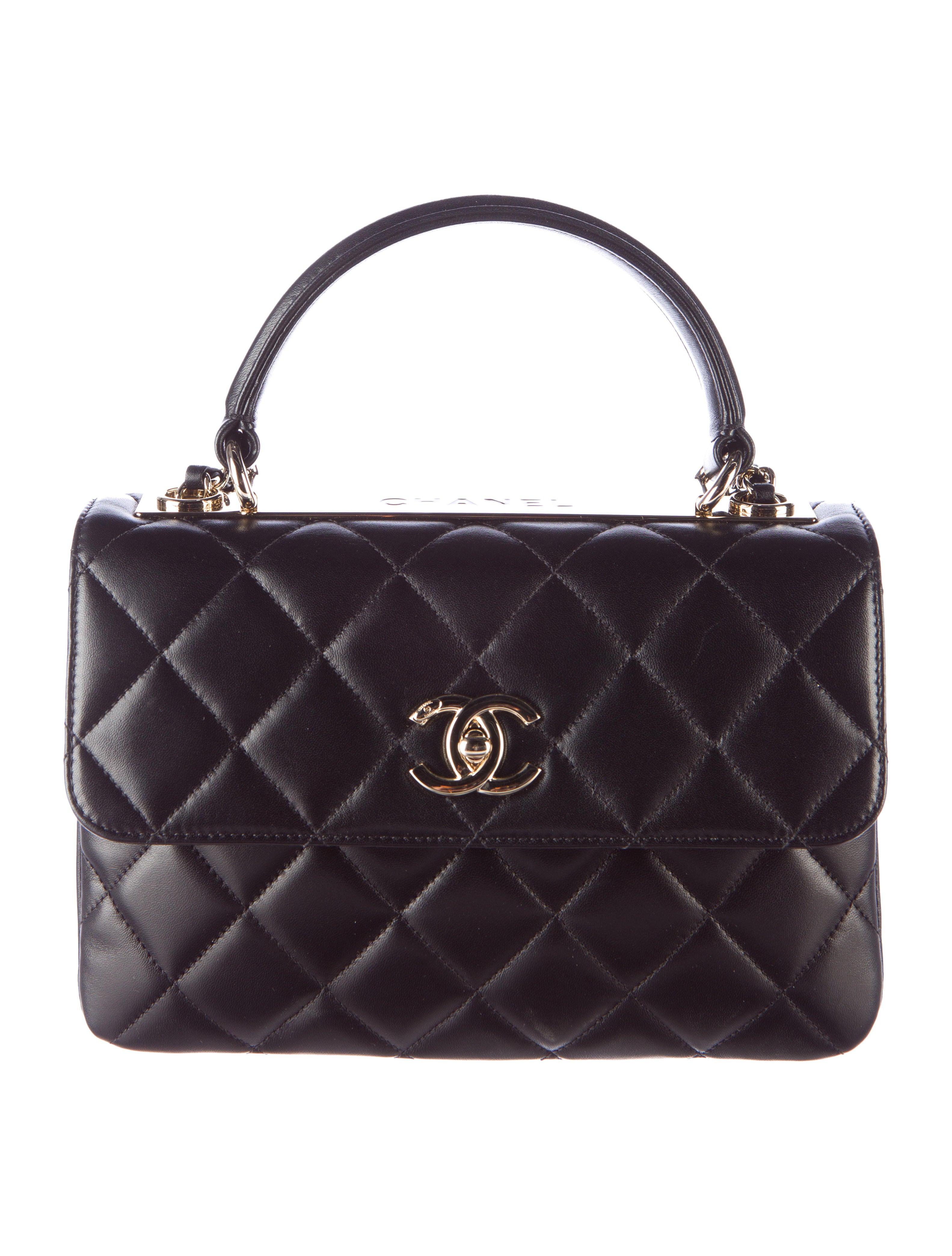 f8fceb165c1d80 Chanel Trendy CC Small Flap Bag - Handbags - CHA112016 | The RealReal