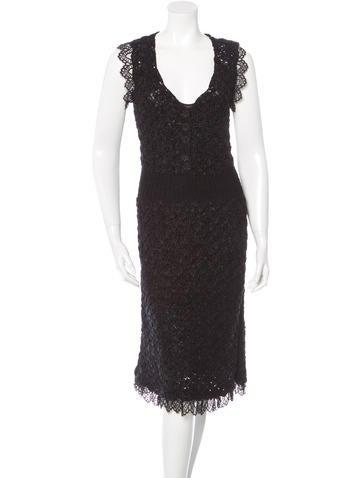 Chanel Crochet Silk Dress w/ Tags None