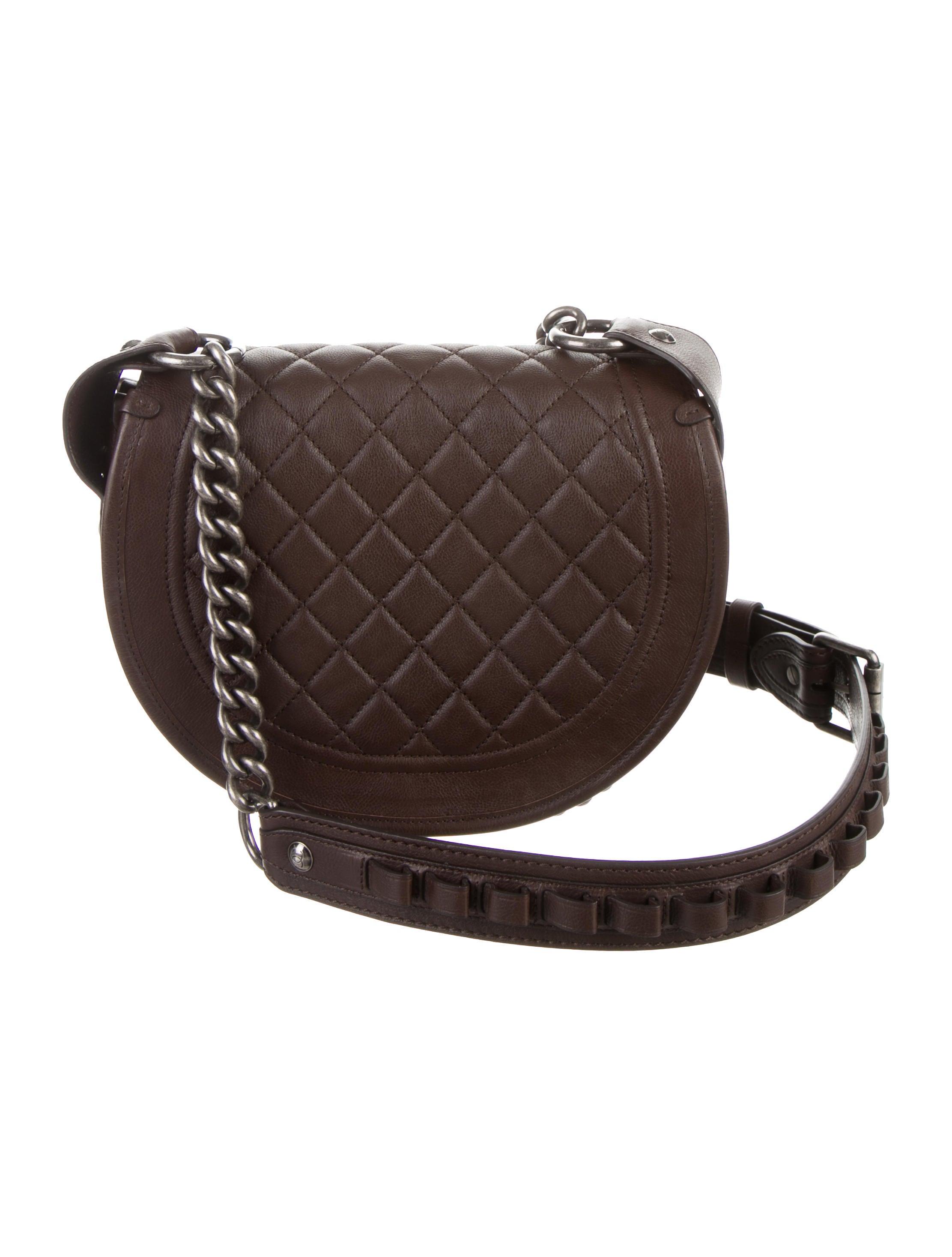 Chanel Bullet Saddle Bag - Handbags - CHA113252 | The RealReal Saddle Bag