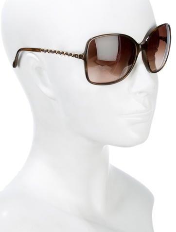 Square Chain Sunglasses