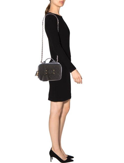 Chanel CC Filigree Vanity Case Bag - Handbags - CHA113804  8380d8f2202a3