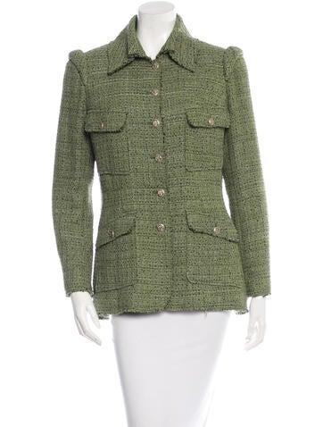 Tweed Patch Pocket Blazer