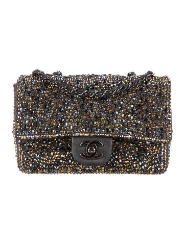 Chanel Strass Flap Bag