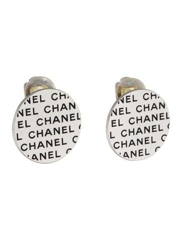 Logo Clip-On Earrings