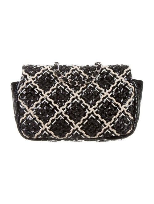 f06d386d60be Chanel Patent Tweed Mini Classic Flap Bag - Handbags - CHA115835 ...