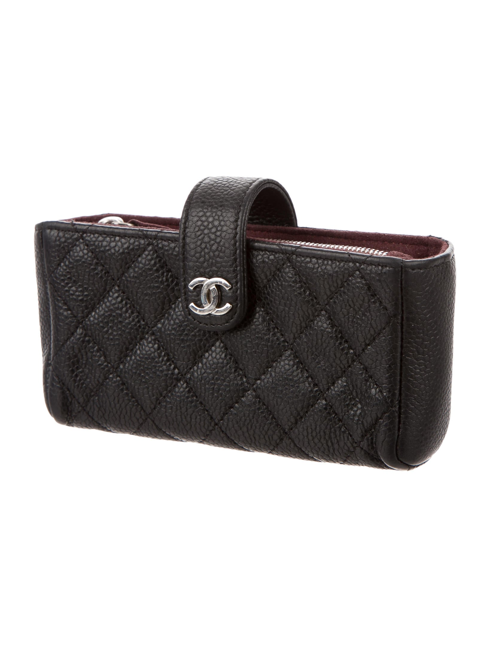 Chanel Caviar Phone Pouch - Accessories - CHA117075 | The ...