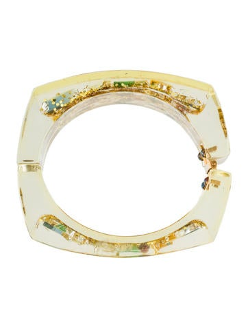 Hinged Lucite Cuff