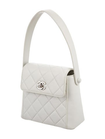Mini Quilted Handle Bag