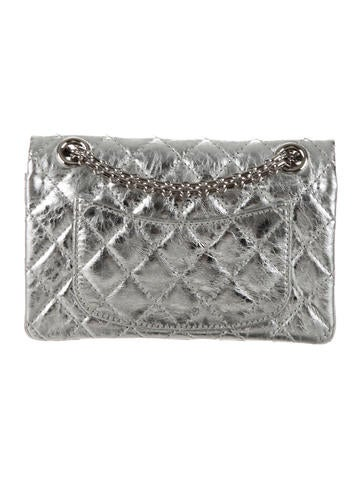 Metallic Reissue 224 Double Flap Bag