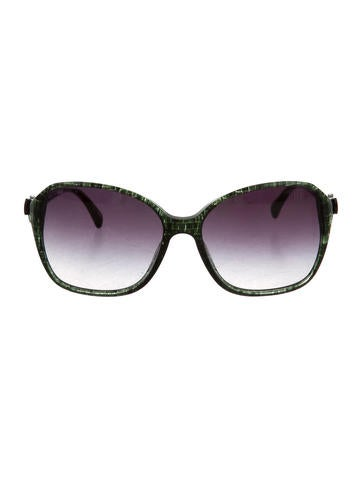 chanel bowaccented sunglasses accessories cha120107