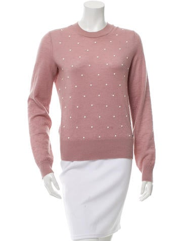 Chanel Embellished Mohair Sweater None