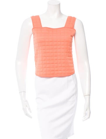 Chanel Sleeveless Quilted Top w/ Tags None