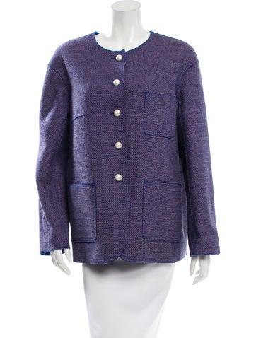 Chanel Pattern Knit Jacket w/ Tags