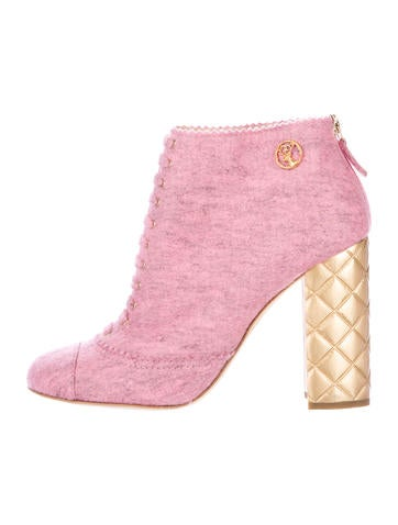 Paris-Salzburg Quilted Booties