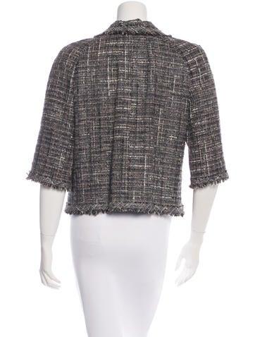 Metallic Tweed Jacket