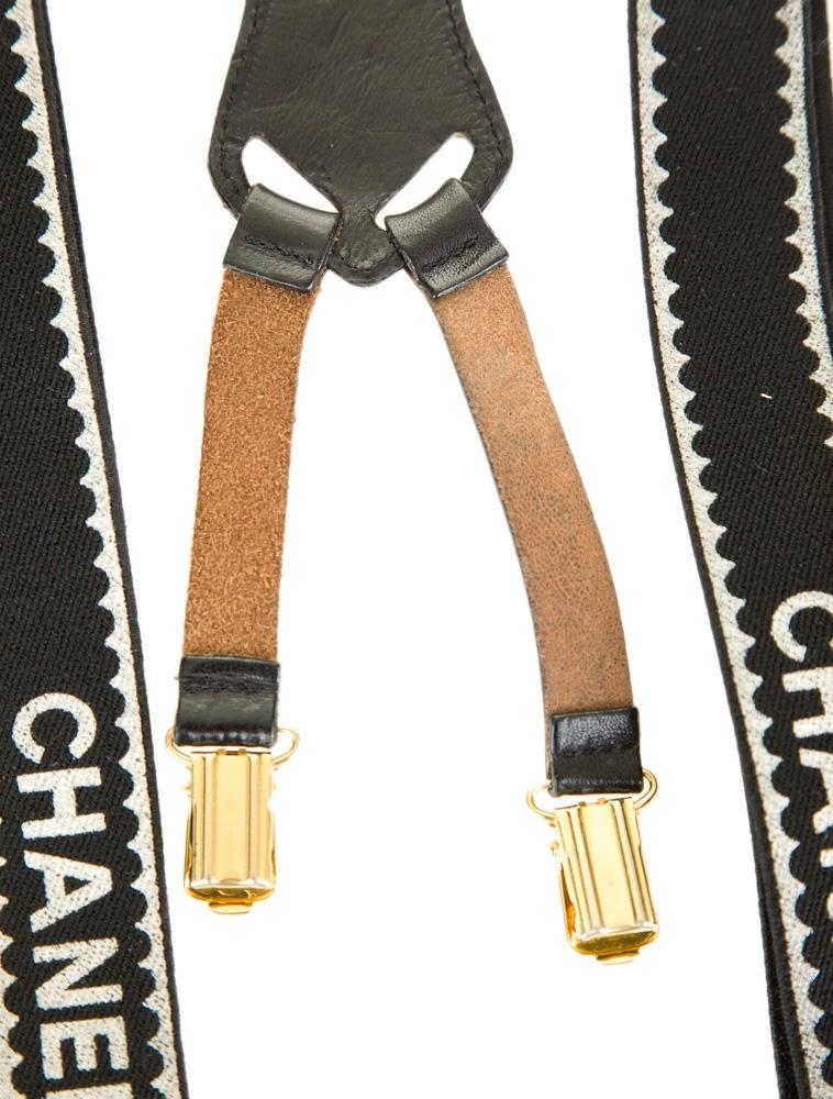 chanel suspenders. suspenders chanel u