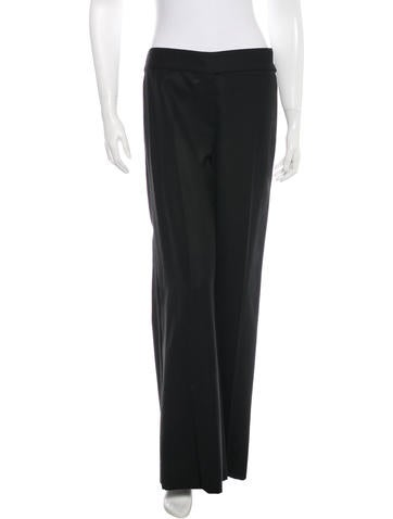 Chanel Wool Wide-Leg Pants