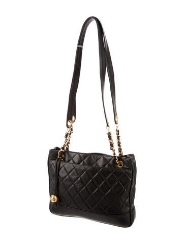 Quilted Leather Tote