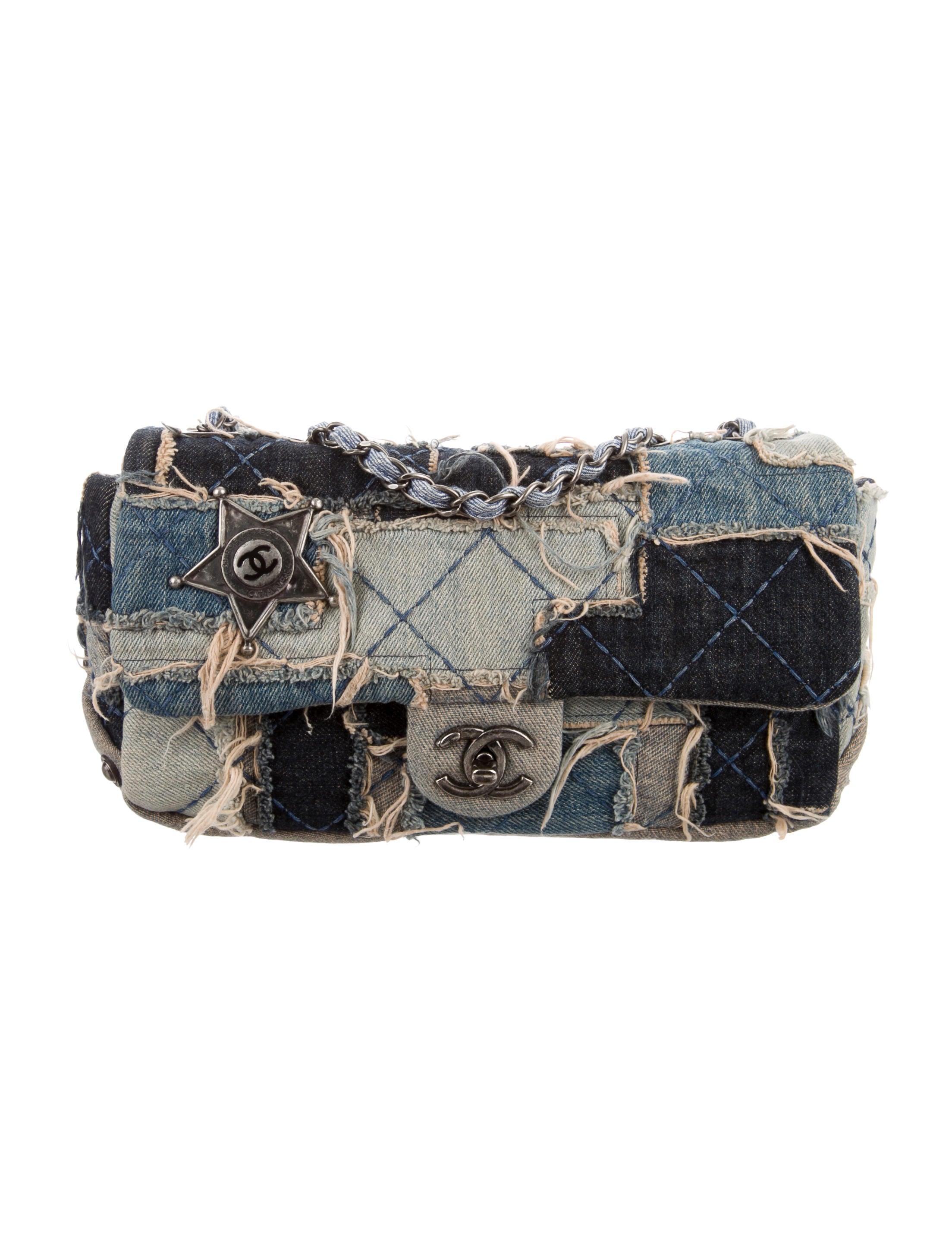 520e0dcf05b0 Chanel Paris-Dallas Denim Flap Bag - Handbags - CHA124953 | The RealReal