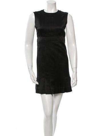 Chanel Silk Pleated Dress