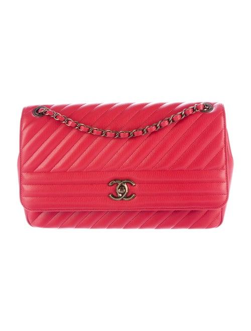 667cc17d3134bb Chanel Spring 2016 Diagonal Quilted Flap Bag - Handbags - CHA126898 ...
