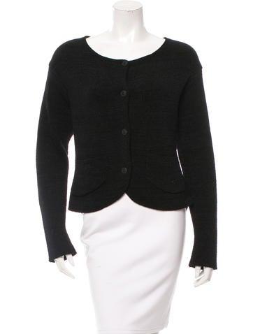 Chanel Silk & Cashmere Cardigan None