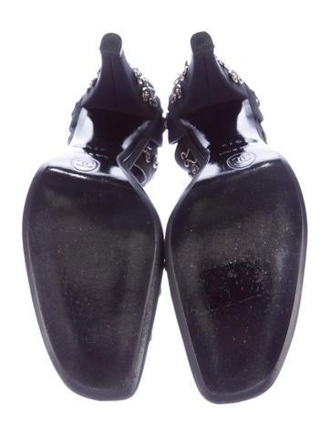 Embellished d'Orsay Pumps