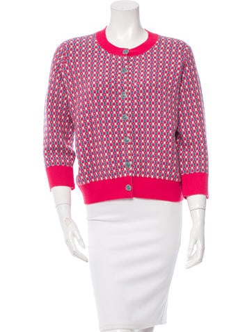 Chanel Embellished Cashmere Cardigan w/ Tags None
