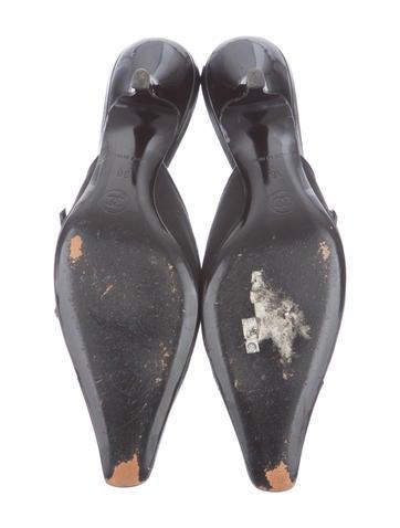 Woven Cap-Toe Mules
